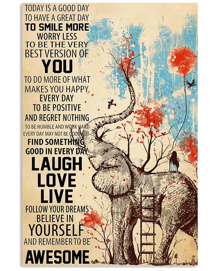Laugh Love Live 11x17 Poster