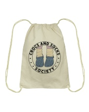 Crocs And Socks Drawstring Bag thumbnail