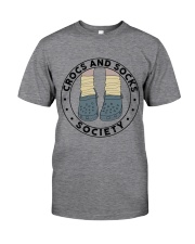 Crocs And Socks Classic T-Shirt front