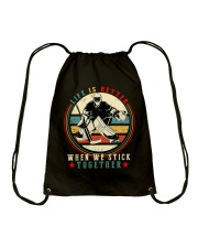 Life Is Better Drawstring Bag thumbnail