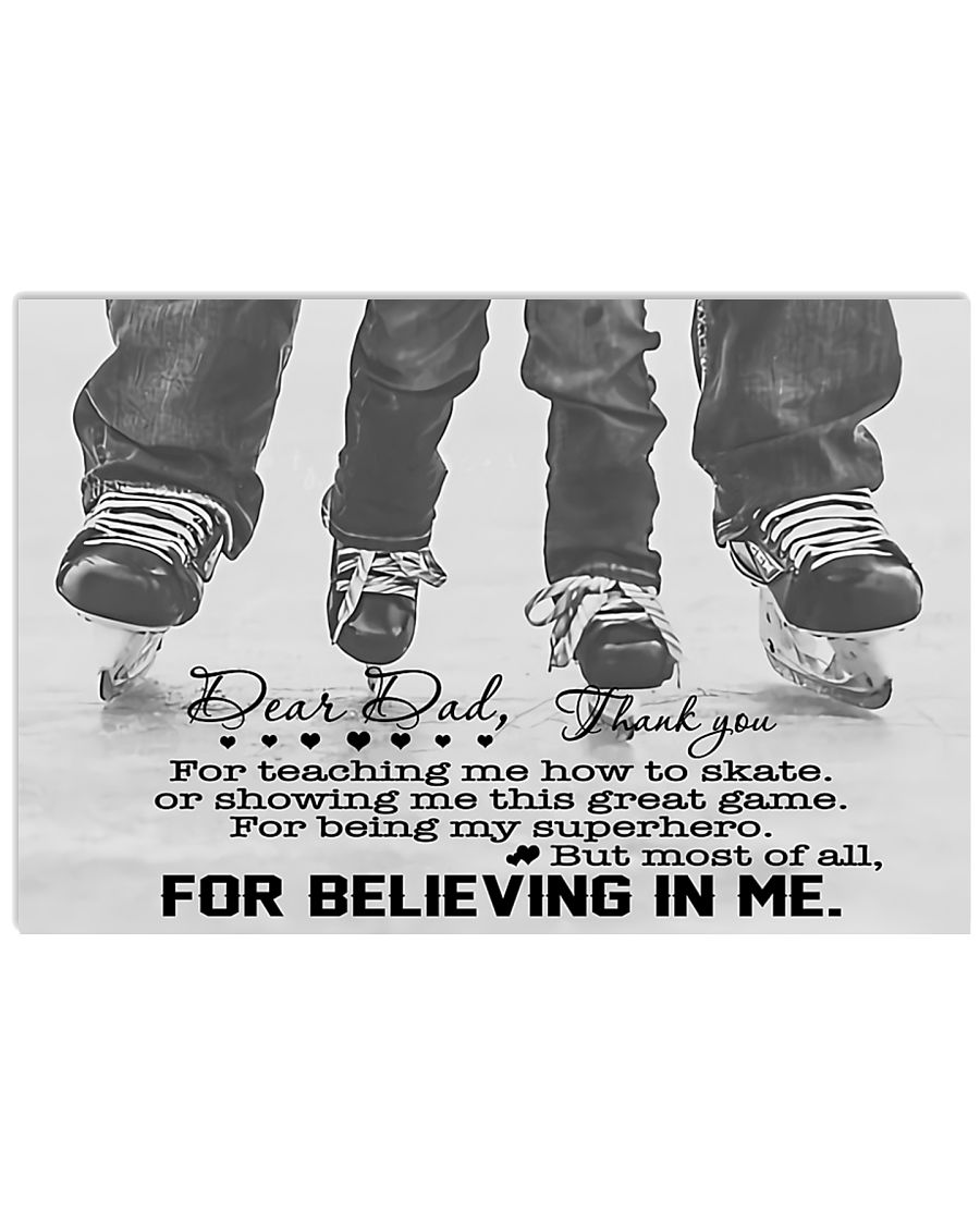 For Believing In Me 17x11 Poster