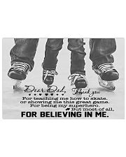 For Believing In Me 17x11 Poster front