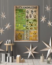 Sloth Knowledge 11x17 Poster lifestyle-holiday-poster-1