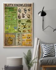 Sloth Knowledge 11x17 Poster lifestyle-poster-1