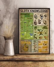Sloth Knowledge 11x17 Poster lifestyle-poster-3