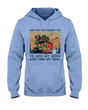And Into The Garden Hooded Sweatshirt front