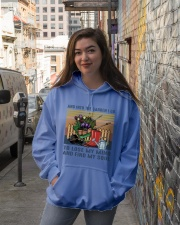 And Into The Garden Hooded Sweatshirt lifestyle-unisex-hoodie-front-1