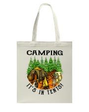 Camping It's In Tennis Tote Bag thumbnail