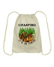 Camping It's In Tennis Drawstring Bag thumbnail