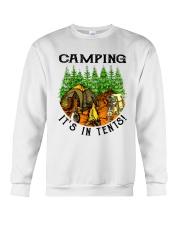Camping It's In Tennis Crewneck Sweatshirt thumbnail