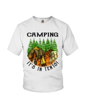Camping It's In Tennis Youth T-Shirt thumbnail