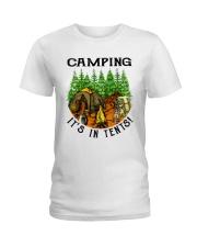 Camping It's In Tennis Ladies T-Shirt thumbnail