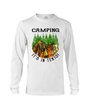 Camping It's In Tennis Long Sleeve Tee thumbnail