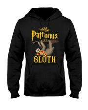 My Patronus Sloth Hooded Sweatshirt front