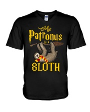 My Patronus Sloth V-Neck T-Shirt thumbnail