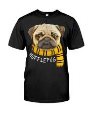 Huffle Pug Classic T-Shirt front