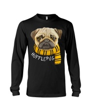 Huffle Pug Long Sleeve Tee tile