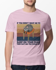 Sleep On Your Chair Classic T-Shirt lifestyle-mens-crewneck-front-13