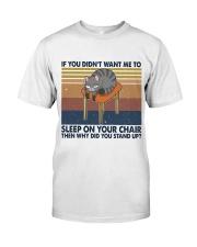 Sleep On Your Chair Premium Fit Mens Tee thumbnail