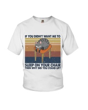 Sleep On Your Chair Youth T-Shirt thumbnail