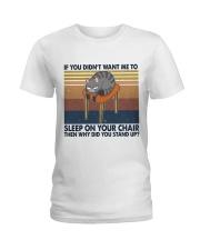Sleep On Your Chair Ladies T-Shirt thumbnail