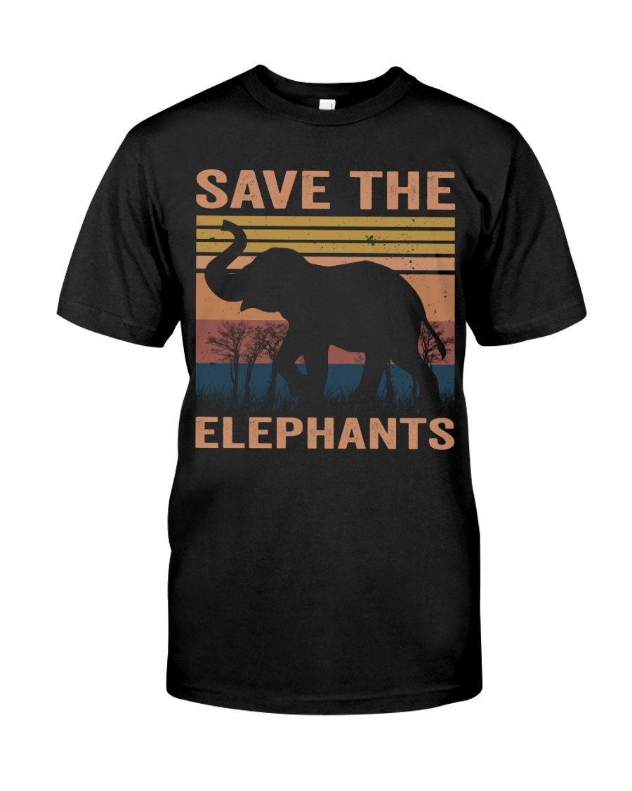 Save The Elephants Classic T-Shirt