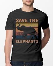Save The Elephants Classic T-Shirt lifestyle-mens-crewneck-front-13