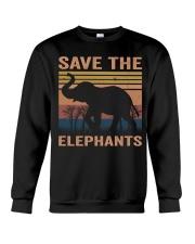 Save The Elephants Crewneck Sweatshirt thumbnail