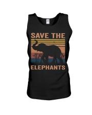 Save The Elephants Unisex Tank thumbnail