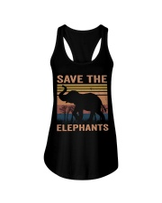 Save The Elephants Ladies Flowy Tank thumbnail