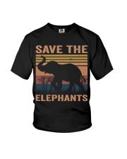 Save The Elephants Youth T-Shirt thumbnail