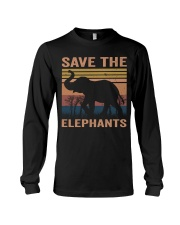 Save The Elephants Long Sleeve Tee thumbnail