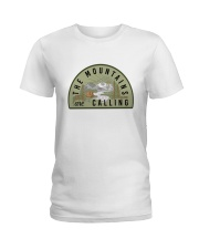 The Mountains Are Calling Ladies T-Shirt thumbnail