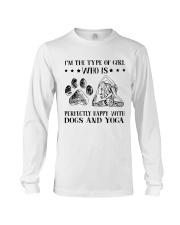 Dogs And Yoga Long Sleeve Tee thumbnail