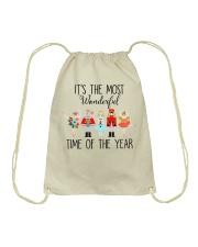 Time Of The Year Drawstring Bag thumbnail