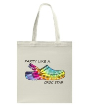 Party Like A Croc Star Tote Bag thumbnail