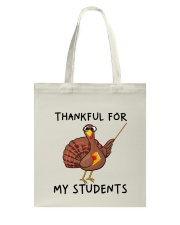 Thankful For My Students Tote Bag thumbnail
