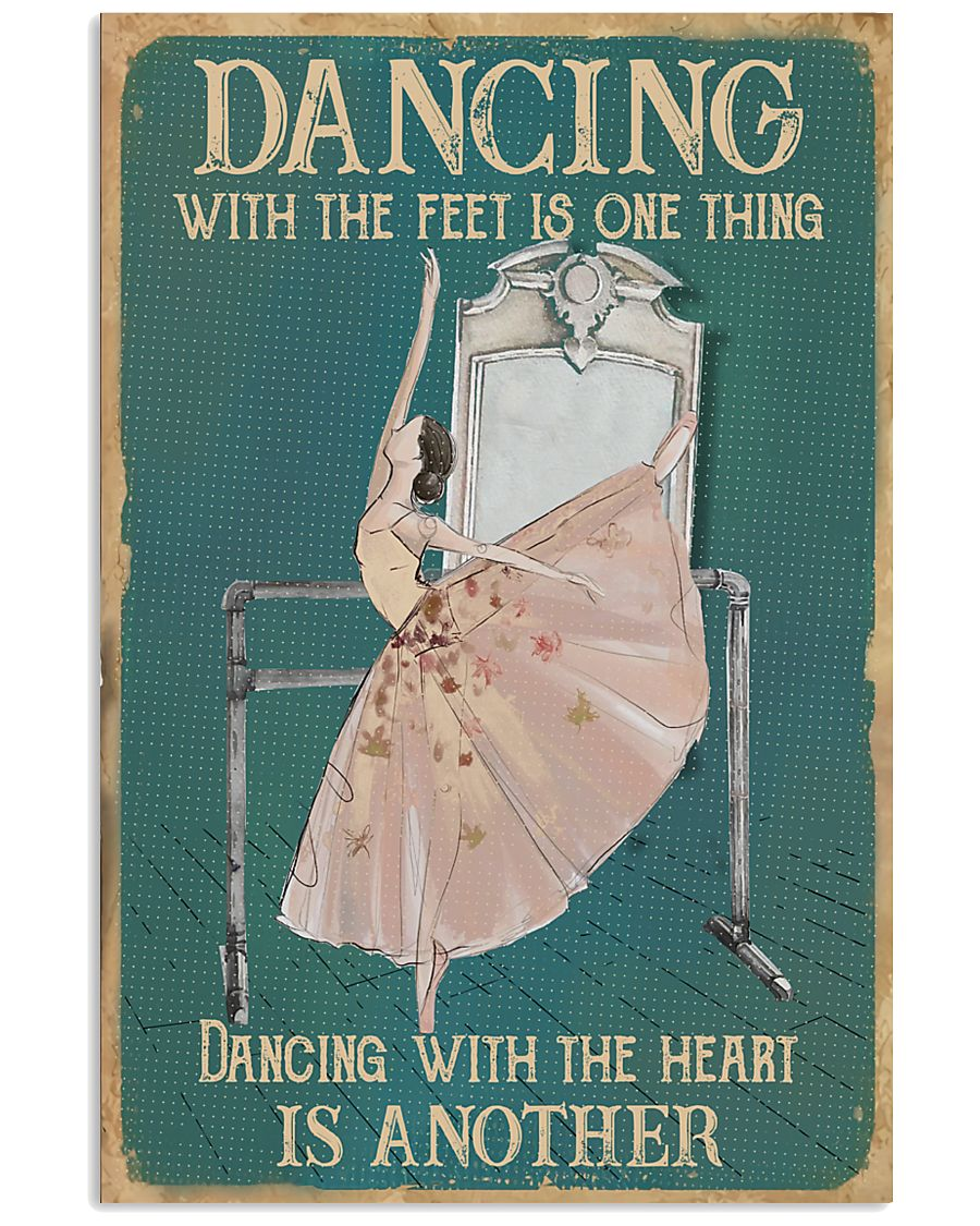Dancing With The Heart 11x17 Poster