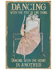 Dancing With The Heart 11x17 Poster front