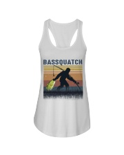Bassquatch Ladies Flowy Tank thumbnail
