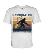 Bassquatch V-Neck T-Shirt thumbnail