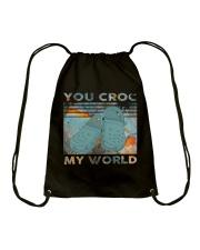 You Croc My World Drawstring Bag thumbnail