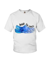 What The Crocs Youth T-Shirt thumbnail
