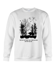 Into The Forest Camping Crewneck Sweatshirt thumbnail