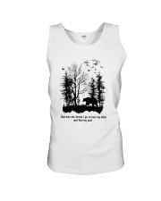 Into The Forest Camping Unisex Tank thumbnail