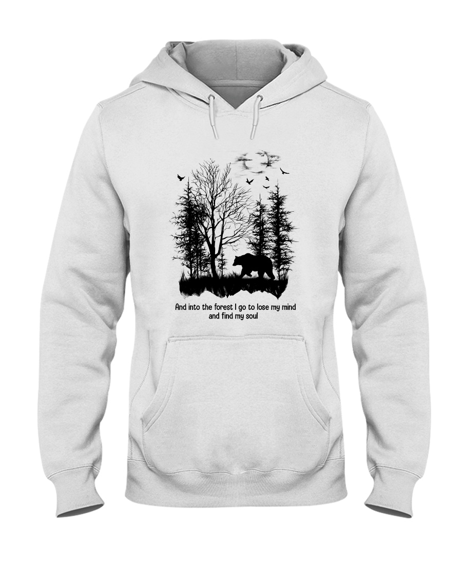 Into The Forest Camping Hooded Sweatshirt