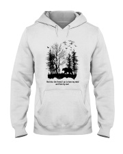 Into The Forest Camping Hooded Sweatshirt front