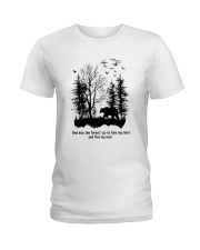 Into The Forest Camping Ladies T-Shirt thumbnail