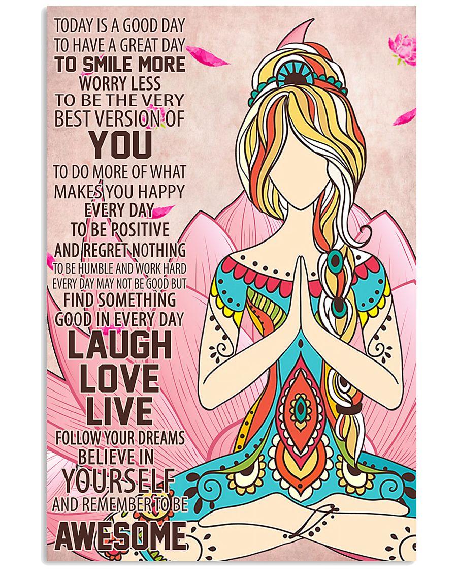 Laugh Love Live 24x36 Poster