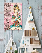 Laugh Love Live 24x36 Poster lifestyle-holiday-poster-2